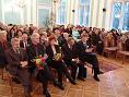 Obchody  30-lecia SSM - na pierwszym planie: Przedstawiciele Władz Powiatu Puławskiego, Miasta Puławy i Kuratorium Lubelskiego   (listopad 2011r)